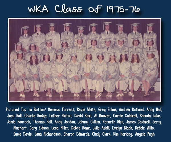 Class of 1976 | WKA Alumni 1972-1980