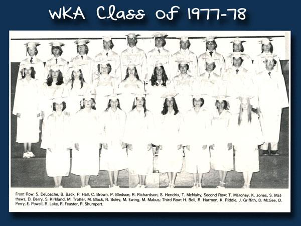Class of 1978 2013 | WKA Alumni 1972-1980
