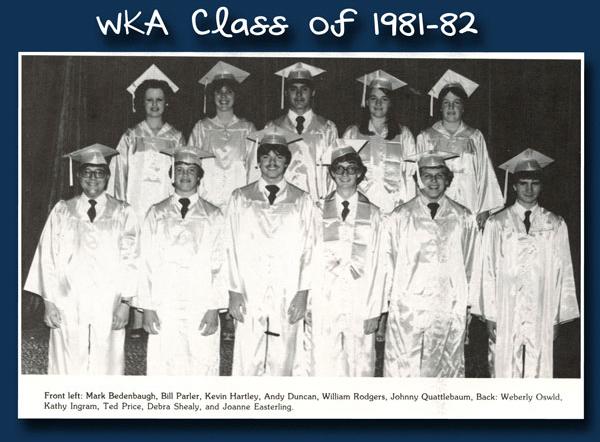 Class of 1982 | WKA Alumni 1981-1990