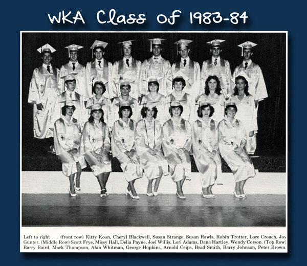 Class of 1984 2013 | WKA Alumni 1981-1990