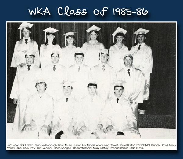 Class of 1986 2013 | WKA Alumni 1981-1990