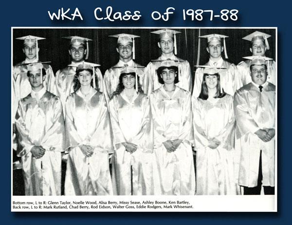 Class of 1988 2013 | WKA Alumni 1981-1990