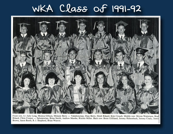 Class of 1992 2013 | WKA Alumni 1991-2000