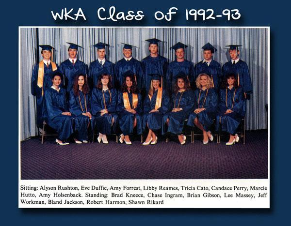 Class of 1993 | WKA Alumni 1991-2000