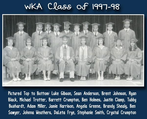 Class of 1998 2013 | WKA Alumni 1991-2000