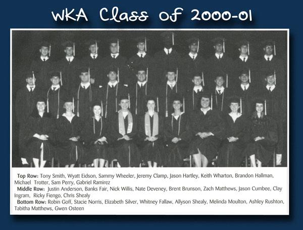 Class of 2001 2013 | WKA Alumni 2001-2010