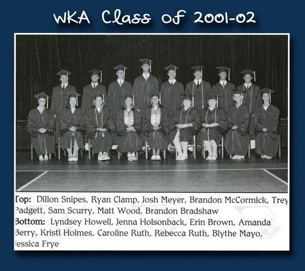 Class of 2002 2013 | WKA Alumni 2001-2010