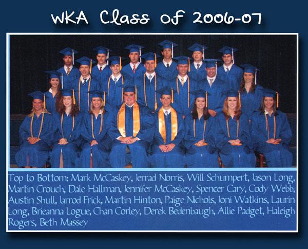 Class of 2007 2013 | WKA Alumni 2001-2010