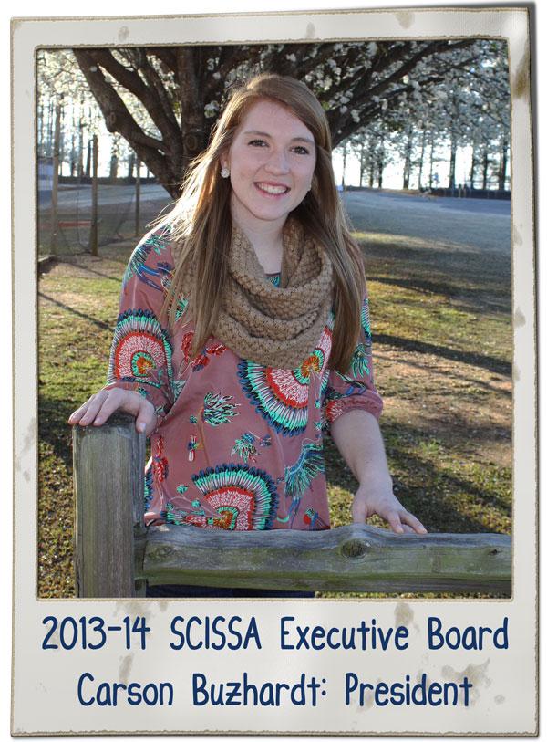 SCISSA President Carson Buzhardt 2013 | SCISSA Executive Board