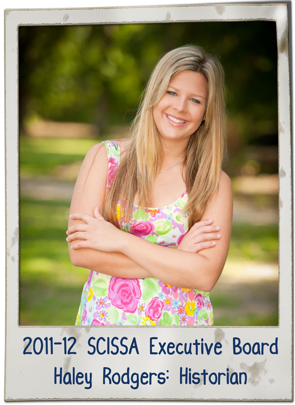 SCISSA Historian Haley Rodgers 2013 | SCISSA Executive Board