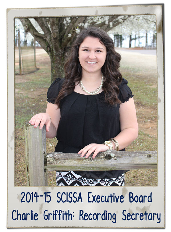 SCISSA Ex. Brd Charlie Griffith 2014-15 | SCISSA Executive Board