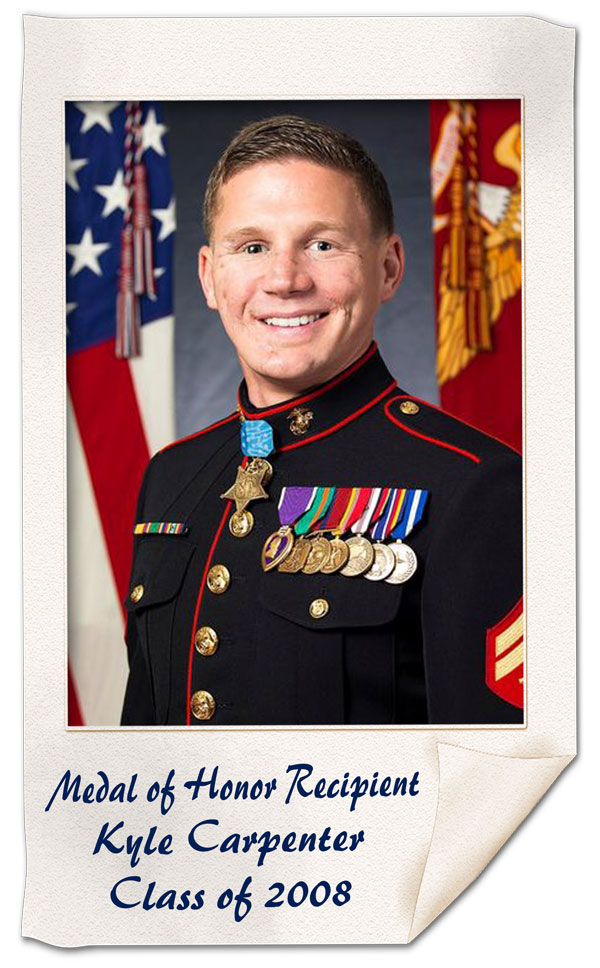 Kyle Carpenter Image 2 Alumni 3.12.15 | Notable
