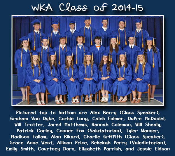 Class of 2015 Alumni Section 6.29.15 | WKA Alumni 2011-Present