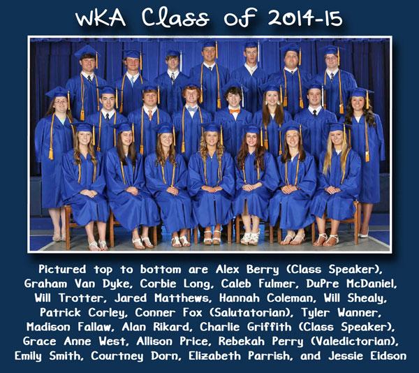 Class of 2015 Alumni Section 6.29.15   WKA Alumni 2011-Present