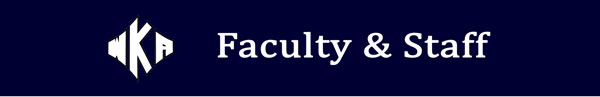 Heading Faculty & Staff 2016 | Faculty and Staff