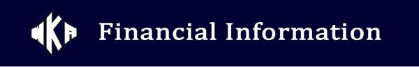 Heading Financial Information 2016   Financial Information