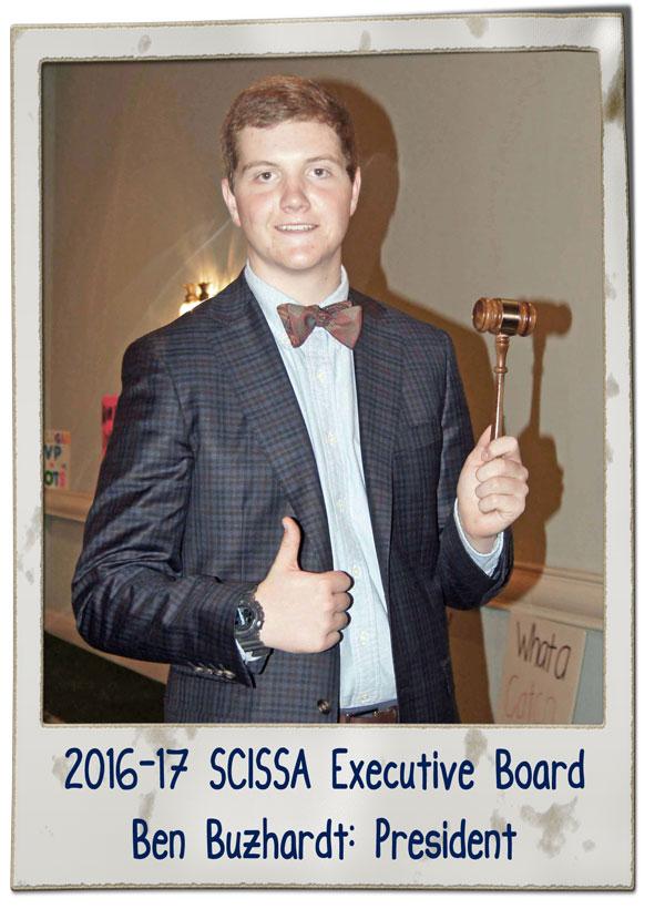 SCISSA Exec Brd 16-17 Ben Buzhardt | SCISSA Executive Board