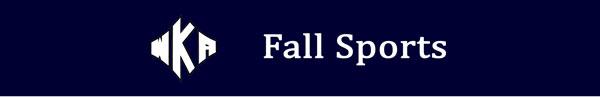 Heading 2016 Fall Sports | Fall Sports
