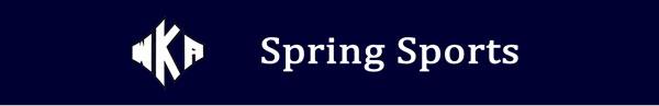 Heading 2016 Spring Sports | Spring Sports