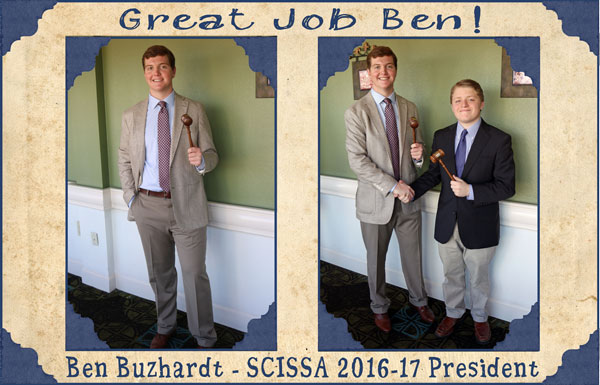 SCISSA Student Council Ben 3.10.17 | News & Events