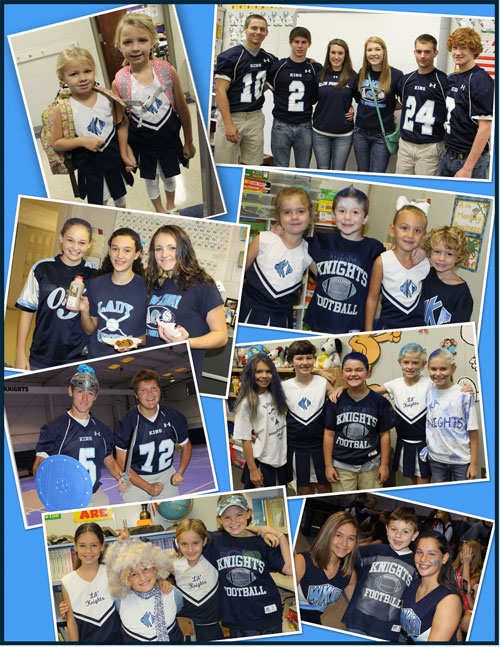 Spirit Week Collage New 2 2012 | Spirit Week