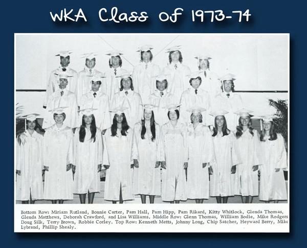 Class of 1974 2013 | WKA Alumni 1972-1980