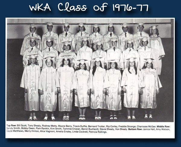 Class of 1977 | WKA Alumni 1972-1980
