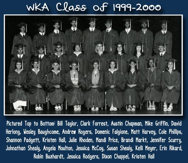 Class of 2000 2013 | WKA Alumni 1991-2000