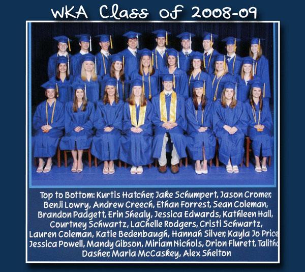 Class of 2009 2013 | WKA Alumni 2001-2010