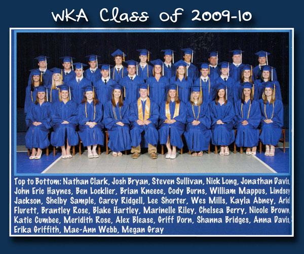Class of 2010 2013 | WKA Alumni 2001-2010