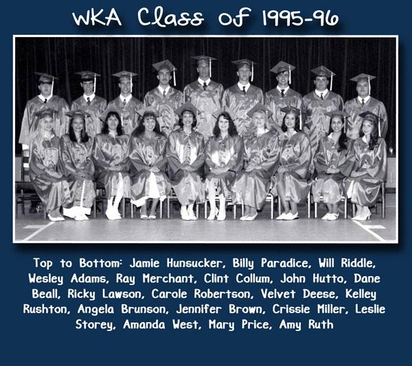 Class of 1995-96 2013 2 | WKA Alumni 1991-2000