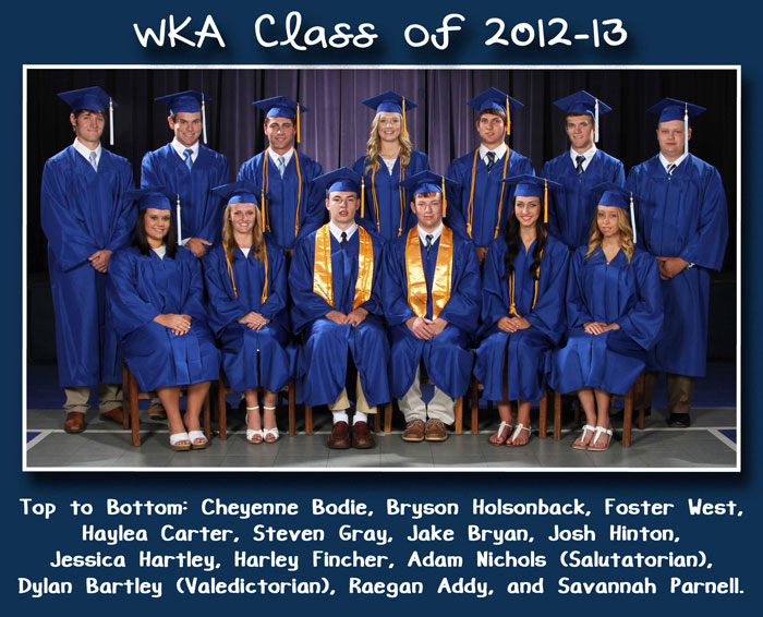 Class of 2013 Alumni Page Image | WKA Alumni 2011-Present