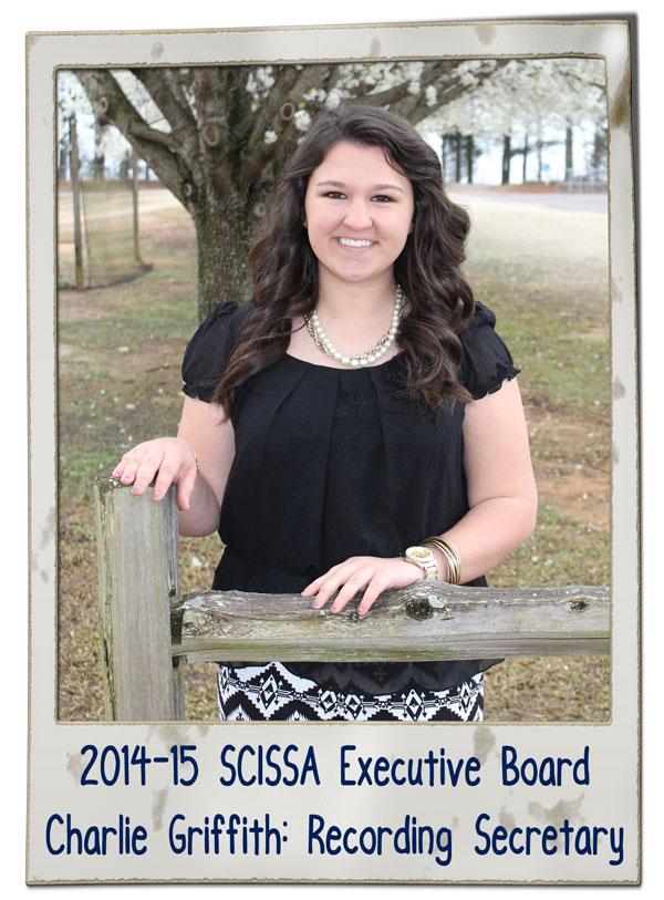 SCISSA Ex. Brd Charlie Griffith 2014-15 | SCISSA Executive Board