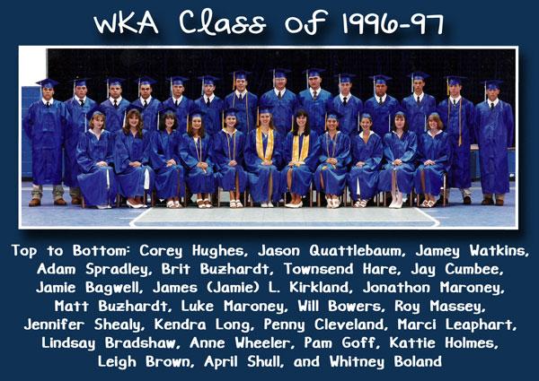 Class of 1997 Corrected Alumni Section Image 7.1.15 | WKA Alumni 1991-2000