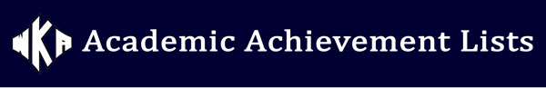Heading Academic Achievement 2016 | Academic Achievement Lists