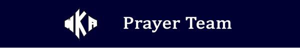 Heading 2016 Prayer Team | WKA Prayer Team