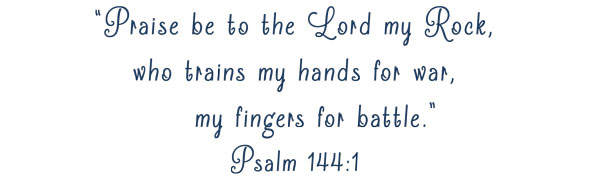 Sports Scripture Psalm 144:1 | Varsity Boys Basketball