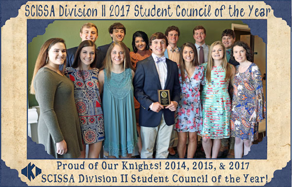 SCISSA Student Council of the Year 3.9.17 | Student Government