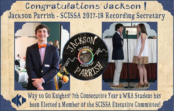 SCISSA Student Council Jackson 3.9.17   Student Government