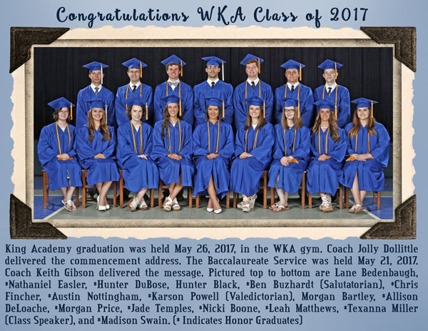2017 Graduation Image 1 | WKA Alumni 2011-Present