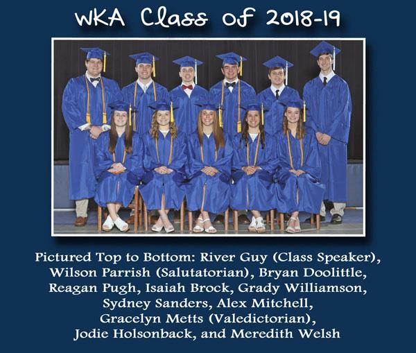 Class of 2018-19 Alumni Page | WKA Alumni 2011-Present 2019