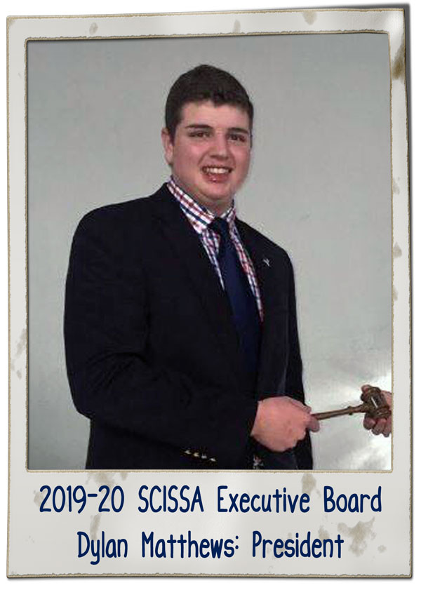 SCISSA Executive Board 2019-20 2 | SCISSA Executive Board