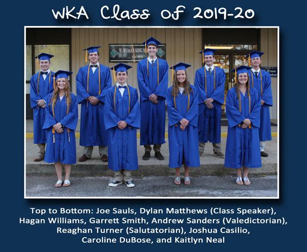 Class of 2020 | WKA Alumni 2011-Present 2019