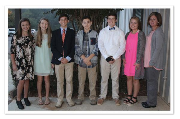 2020-21 Middle School Math Team | Student Life