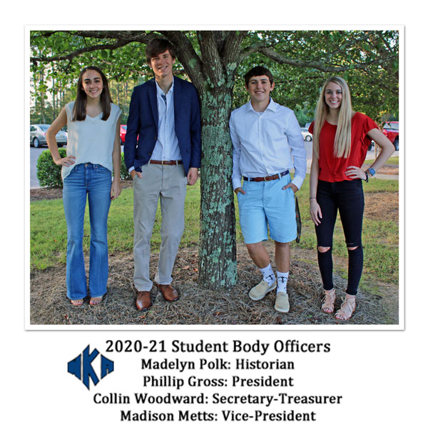 2020-21 Student Body Officers Image | Student Government