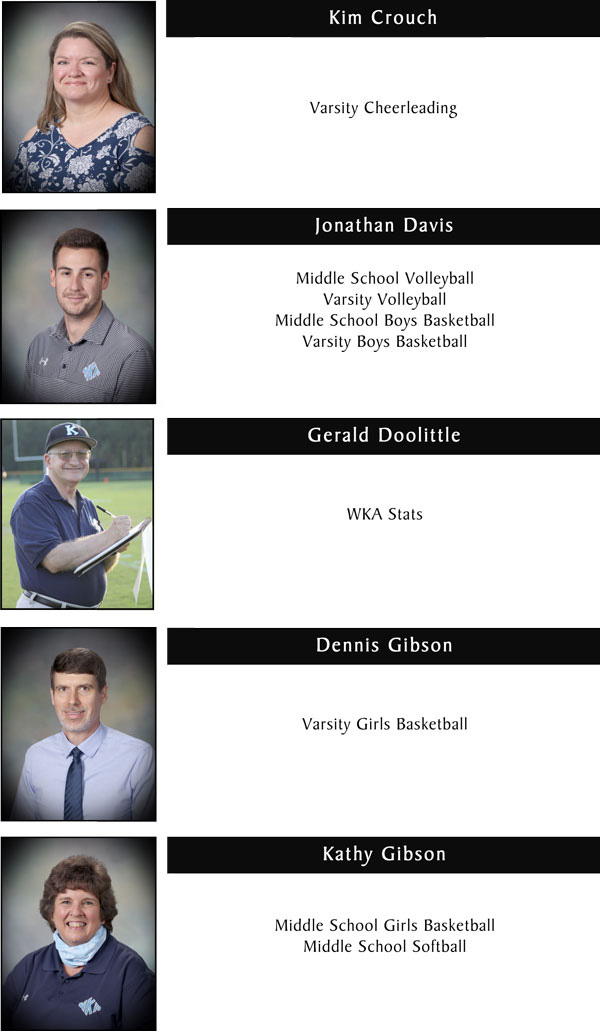 Coaches & Staff Page 1 | Coaches & Staff