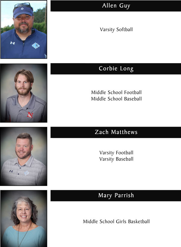 Coaches & Staff  Page 2 11.3.20 | Coaches & Staff