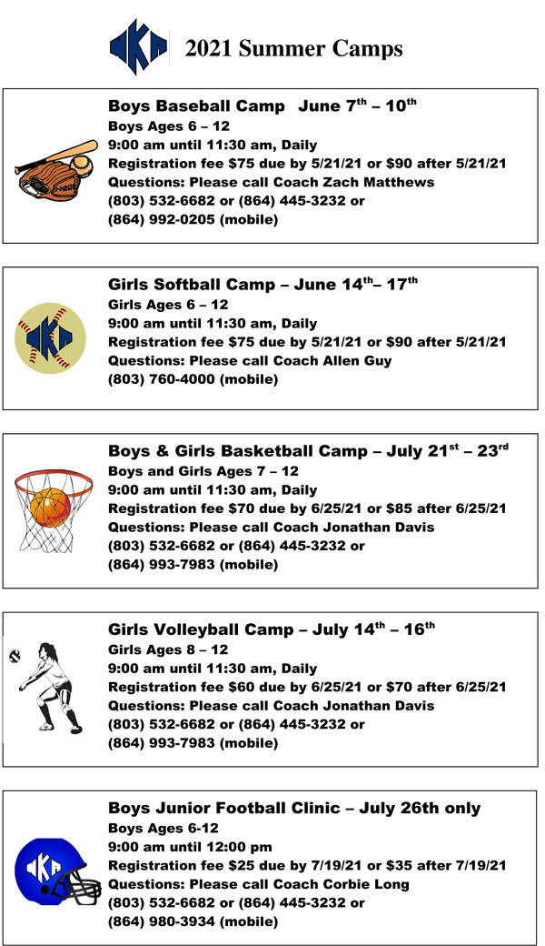 2021 Summer Camp Image | Summer Camps